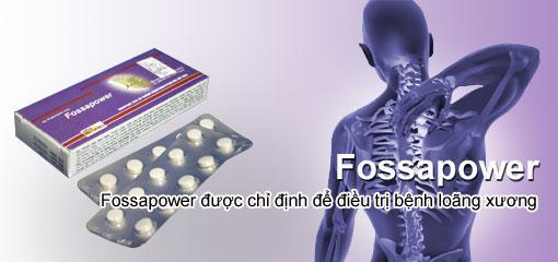 Fossapower: phòng loãng xương