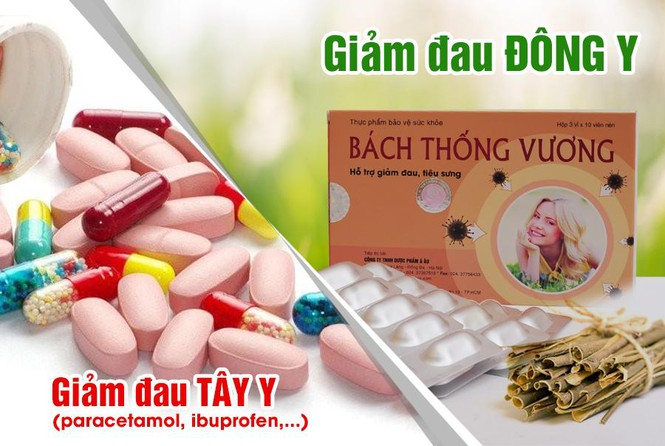 Thuốc giảm đau paracetamol và GIẢM ĐAU ĐÔNG Y: Nên sử dụng như thế nào thì tốt?