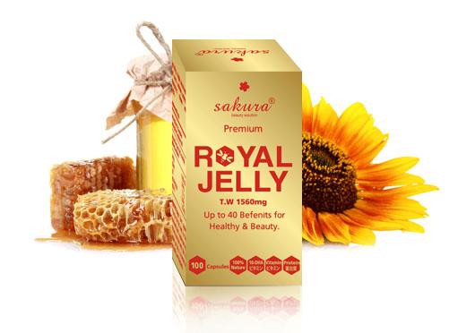 Sữa Ong Chúa Cao Cấp Sakura Premium Royal Jelly