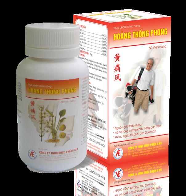 Hoàng Thống Phong – Giải pháp cải thiện bệnh gút hiệu quả từ thiên nhiên