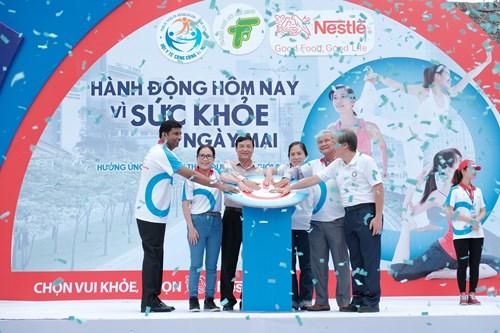 Thông cáo báo chí từ Nestlé Vietnam: 1.500 người cam kết ' Hành động hôm nay vì sức khỏe ngày mai'