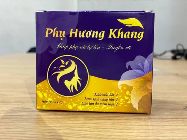 Thực hư công dụng của bột ngâm phụ khoa Phụ Hương Khang  có hiệu quả như lời đồn?
