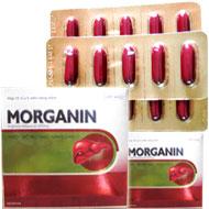 Morganin- chữa Viêm gan