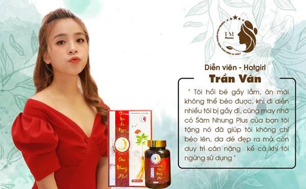 dien vien - hot girl tran van : vai nhien rau trong phim nha tro balanha dang duoc phat song trong khung gio vang vtv3.