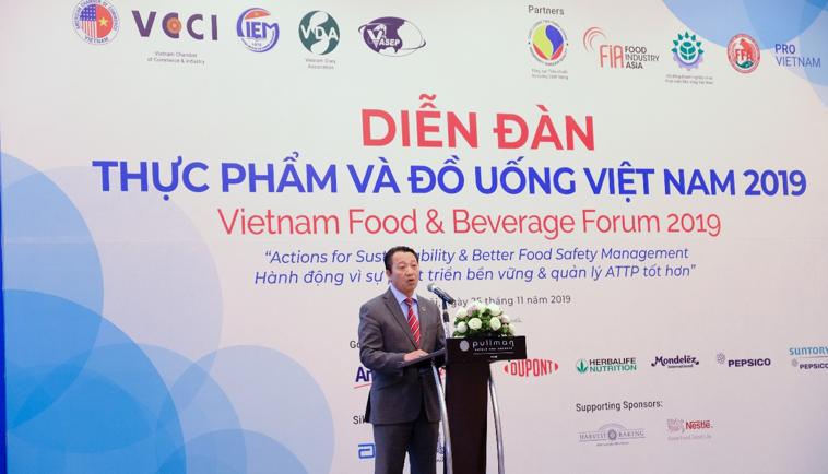 Thông cáo báo chí diễn đàn thực phẩm và đồ uống việt nam 2019