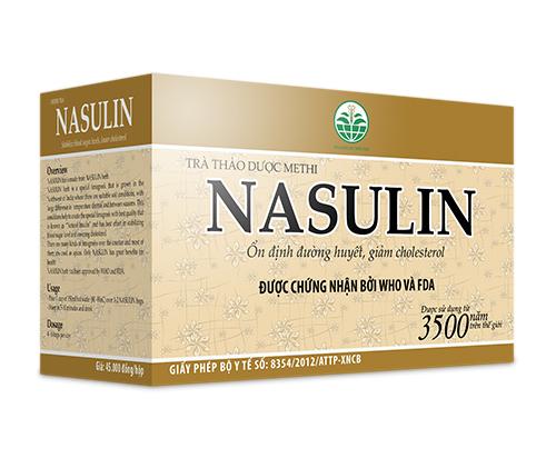 Thảo dược nasulin 1250g - giảm cholesterol