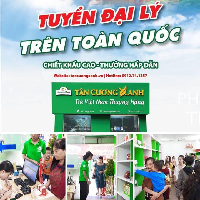 Hệ thống phân phối trà Thái Nguyên ngon Tân Cương Xanh